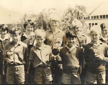Athletics trophy winners, St Josephs Convent School