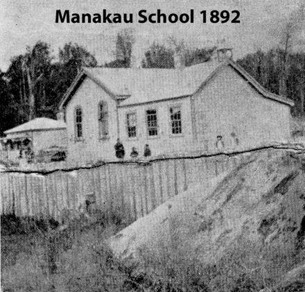 Manakau School 1892