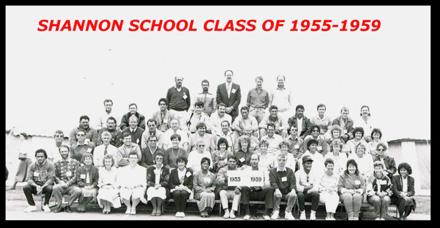 Shannon School Class of 1955-1959