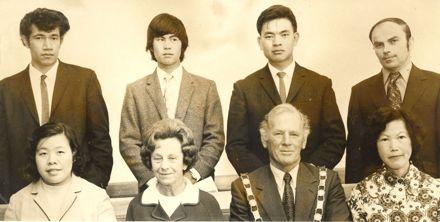 N.Z. Citizenship ceremony, Levin, 1972