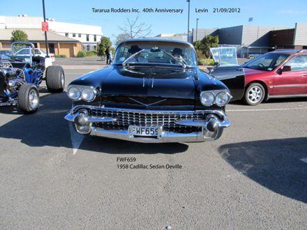 FWF695 1958 Cadillac Sedan Deville 1