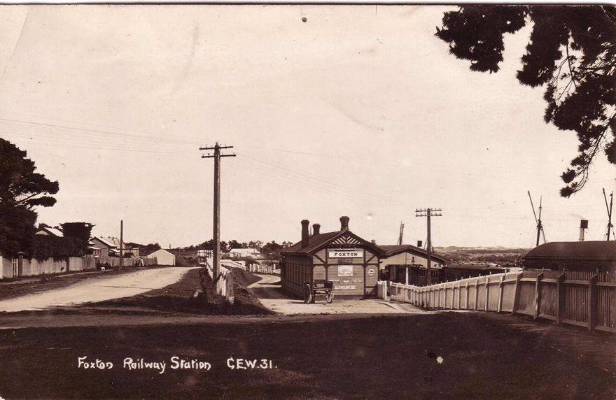 Railway Station Foxton