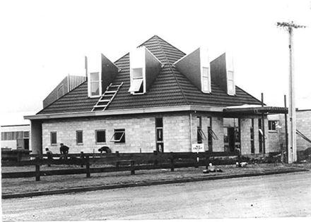Classic Pennants building, Levin, 1971