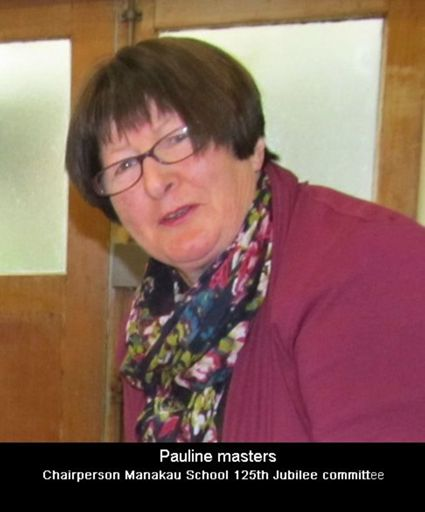 Pauline Masters chairperson of Manakau school