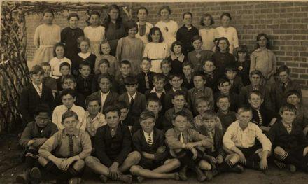 Foxton School Class c1920