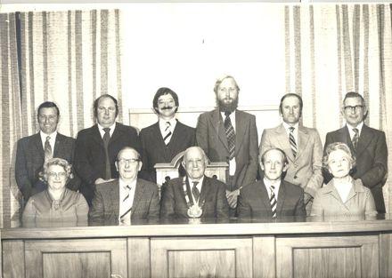 Foxton Borough Councillors, 1978-80