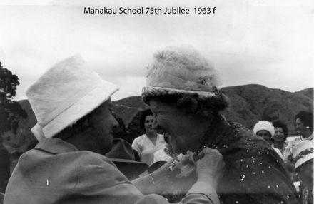 Manakau School 75th Jubilee 1963 f