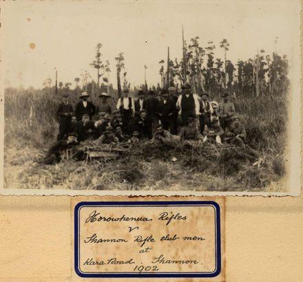 Horowhenua Rifles v Shannon Rifle Club, 1902