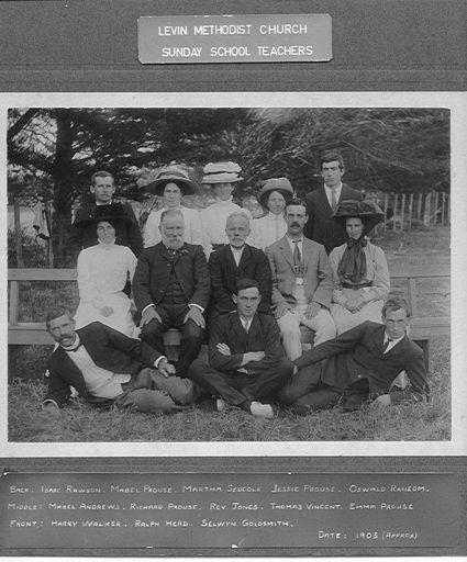 Methodist Sunday School Teachers, Levin