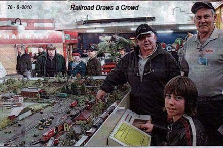 Railroad Draws a crowd