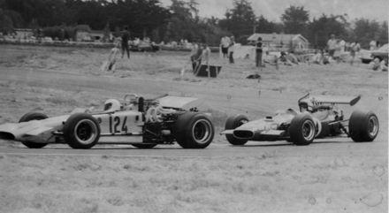 Motor racing on the Levin motor-racing Circuit 1970