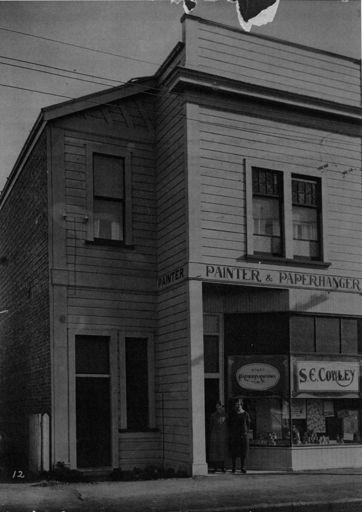 Edgar Cowley's Paint Shop, Foxton