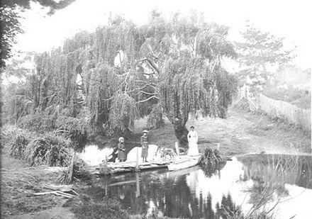 Hokio Stream, bridge near 'Lakeside'