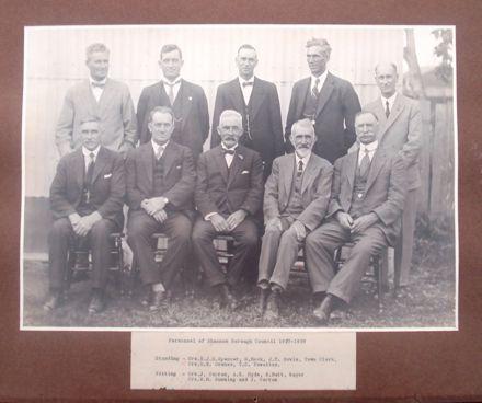 Shannon Borough Councillors, 1927 - 1929