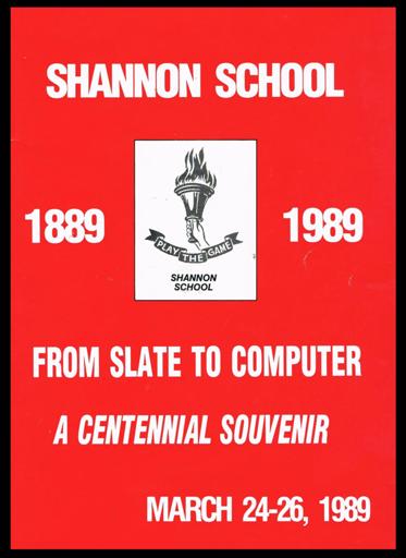 Shannon School 1980's