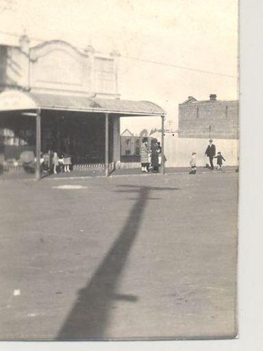 Shop in Main Street Foxton, 1920's - 30's ?