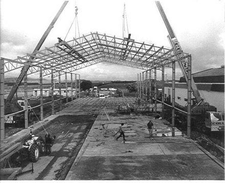 AHI factory, Tararua Rd., Levin, 1985