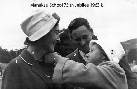 Manakau School 75th Jubilee 1963 k
