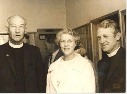 Canon Joblin, Dean & Mrs Hurst, 1969