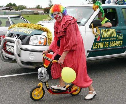 Xmas Parade 2007 - Clown