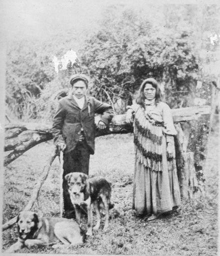 Maori Man and Woman, Shannon