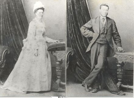 Mary Ann (nee Knight) and Vincent Ransom, 12 August 1875