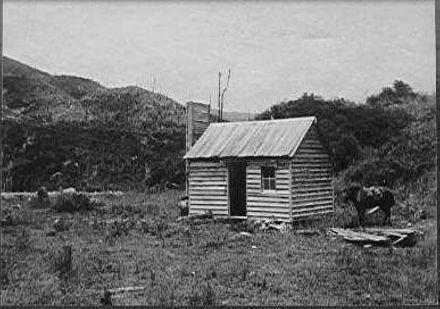 Old sawmill site, Makahika River