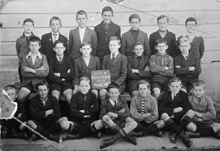 Manchester Street School - Std. 5 1919