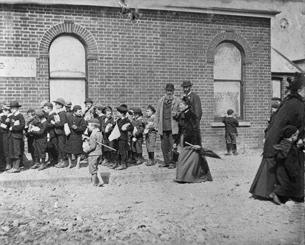 Visit of Lord Ranfurly - 1898