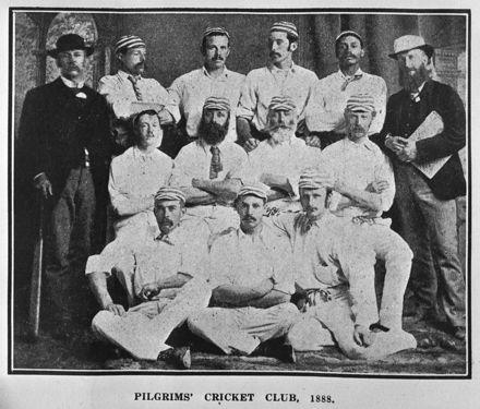 Pilgrim's Cricket Club - 1888
