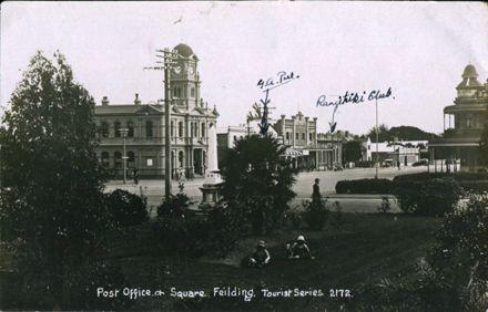 Manchester Square Postcard