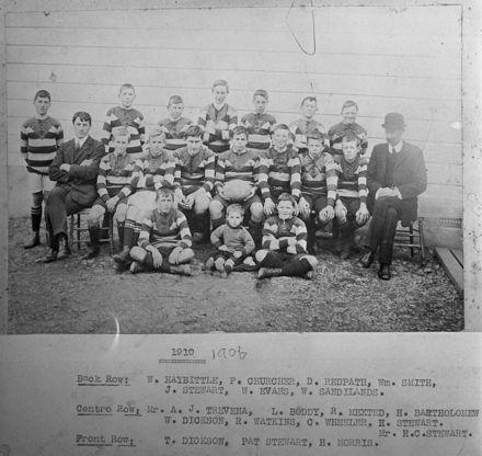 Lytton St School football team, 1910