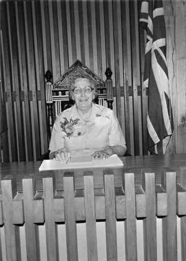 E. C. Anderson, c. 1980