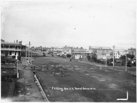 Kimbolton Road looking North-east, 1920