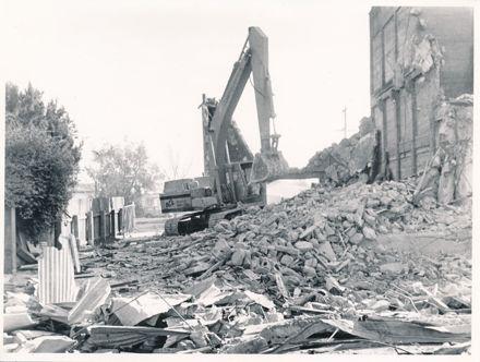 Page 1: Demolition of Hodder & Tolley