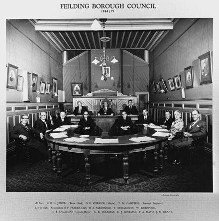 Feilding Borough Council, c. 1968-1971