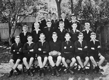Manchester St School First XV 1938