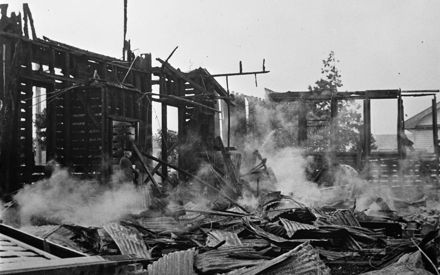 Manchester St School fire - 1954 : 27-7