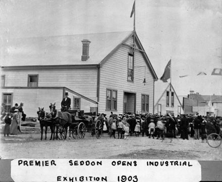 Opening of industrial exhibition 1903