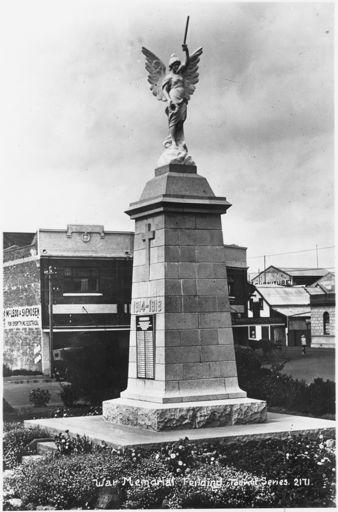 Feilding War Memorial, c. 1925