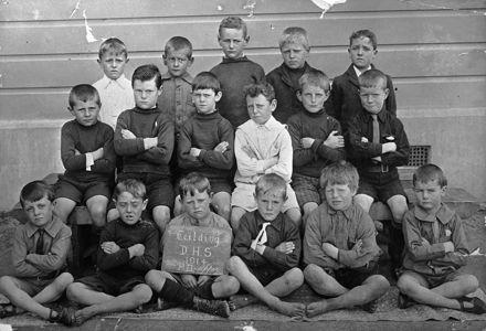 Manchester Street School  PII - Upper 1914