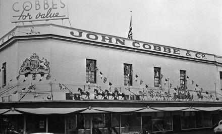 Cobbes drapery store - 1953