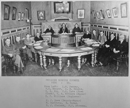 Feilding Borough Council, c. 1950-53