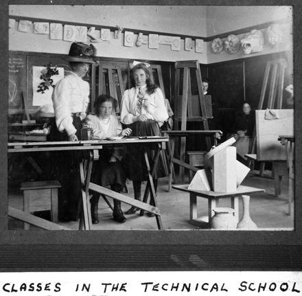 Feilding Technical School classes