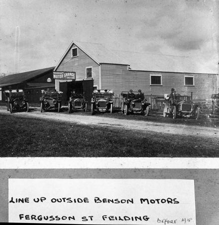 Benson Motor Garage, c. 1910s