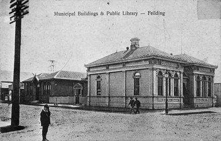 Feilding Municipial Buildings & Public Library