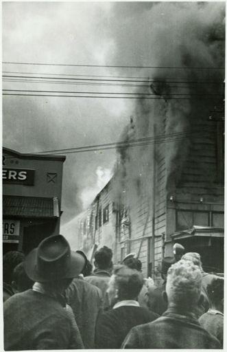 Bramwells Drapery Fire