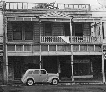 York House - fire damage - 1933