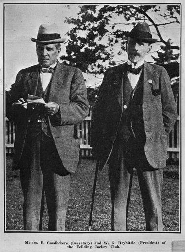 Edmund Goodbehere & William George Haybittle