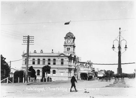 Original Feilding Post Office, c. 1910